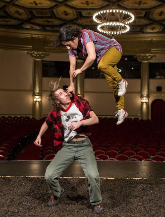 Dancers Jason Cianciulli & Laja Field onstage @ the Lobero Theatre 9/13/16 Santa Barbara, CA