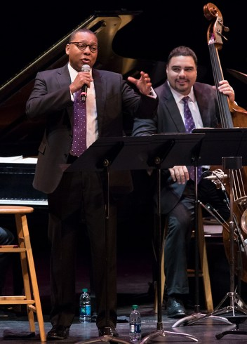 Wynton Marsalis gets the kids involved! Jazz at Lincoln Center Orchestra 10/4/16 Granada Theatre