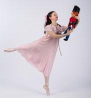 "Tamar Cohen is Clara in Santa Barbara Festival Ballet's ""The Nutcracker"" 10/16/16"