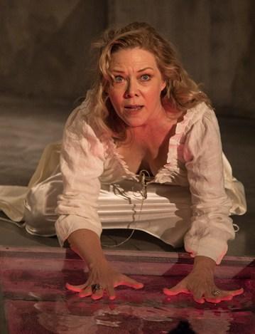 "Lady Macbeth (Kathryn Meisle) - Ensemble Theatre Co. ""Macbeth"" 9/28/16 New Vic Theatre"
