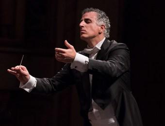 Nir Kabaretti conducts the Santa Barbara Symphony - Beethoven's 9th Symphony 10/15/16 Granada Theatre