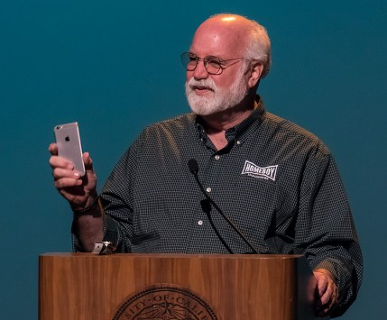 Father Boyle and the pitfalls of autocorrect when texting - Arts & Lectures 10/18/16 UCSB Campbell Hall