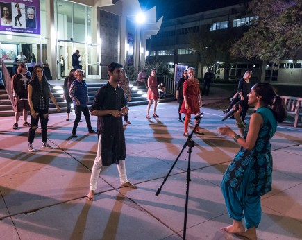 Members of Dhadkan teach Bhangra Indian folk dance - 11/1/16 Campbell Hall