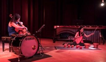 "Ani Aznavoorian and Ji Hye Jung performing Caroline Shaw's ""Boris Kerner"" - Camerata Pacifica 11/18/16 Hahn Hall"
