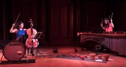 "Ani Aznavoorian and Ji Hye Jung performing Andy Akiho's ""21"" - Camerata Pacifica 11/18/16 Hahn Hall"