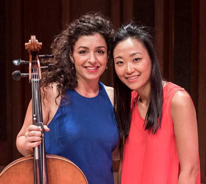 Ani Aznivoorian and Ji Hye Jung - Camerata Pacifica 11/18/16 Hahn Hall