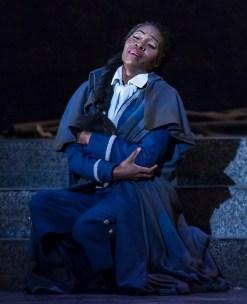 """Jeanine De Bique - soprano as Micaëla - Opera Santa Barbara's """"Carmen"""" 11/2/16 Granada Theatre"""