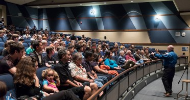 Capt. Scott Kelly giving a talk for engineering students at Dos Pueblos High School - UCSB arts & Lectures 11/14/16