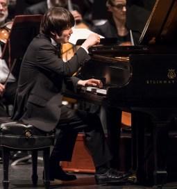 Seong-Jin Cho with the Warsaw Philharmonic Orchestra - CAMA Santa Barbara 11/7/16 Granada Theatre
