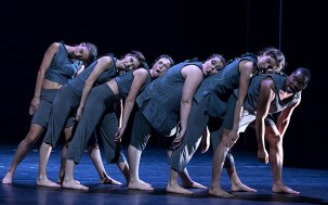 """""""People R Us"""" by Holly Warner - UCSB Dept. of Theater & Dance """" Fall Dance Concert 11/30/16 Hatlen Theater"""