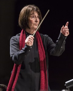 "JoAnne Wasserman conducting the Santa Barbara Choral Society""s Hallelujah Project 4 12/10/16 The Lobero Theatre"