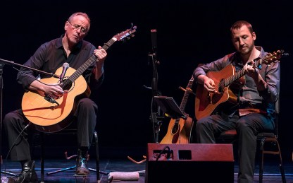 "Will Ackerman & Todd Boston - 30th Anniversary of Windham Hill's ""A Winter's Solstice"" 12/19/16 The Lobero Theatre"