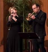 Ilene Stahl and Mark Berney - UCSB Arts & Lectures 1/24/17 Congregation B'nai B'rith