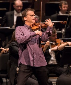 Robert McDuffie soloing with the Bruckner Orchestra Linz - CAMA Santa Barbara 2/7/17 The Granada Theatre