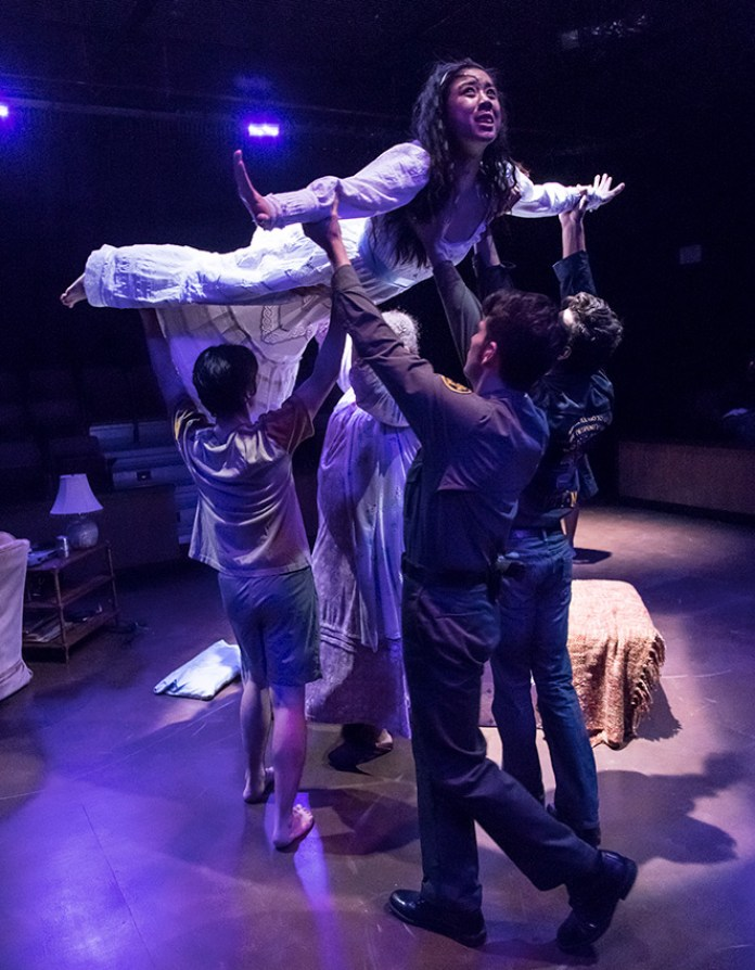 "UCSB Theater & Dance Dept. production of Octavio Solis's ""Lydia"" 2/15/17 UCSB Performing Arts Theater"