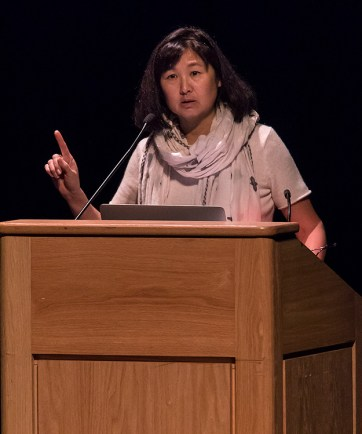 Maya Lin at UCSB Arts & Lectures 1/30/17 UCSB Campbell Hall