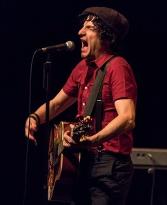 Jesse Malin belts it out at Sings Like Hell 2/5/17 The Lobero Theatre