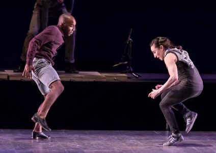 "Christopher Broughton and Ephrat ""Bounce"" Asherie, Dorrance Dance - ""SOUNDspace"" - UCSB Arts & Lectures 2/8/17 The Granada Theatre"