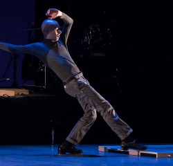 """Warren Craft taps a trigger board - """"ETM: DOUBLE DOWN"""" - UCSB Arts & Lectures performance for the schools 2/9/17 The Granada Theatre"""