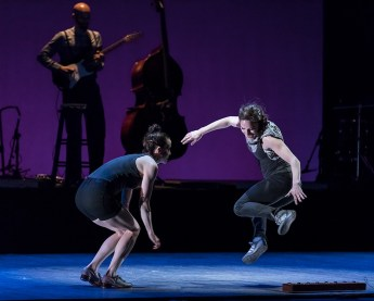 "Dorrance Dance - ""ETM: DOUBLE DOWN"" - UCSB Arts & Lectures performance for the schools 2/9/17 The Granada Theatre"