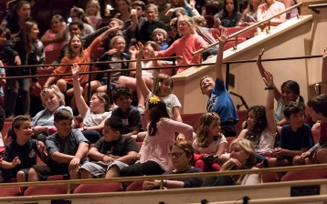 Dorrance Dance - UCSB Arts & Lectures performance for the schools 2/9/17 The Granada Theatre
