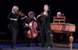 Members of Tafelmusik Baroque Orchestra performing music of J.S.Bach - CAMA Santa Barbara 3/8/17 The Lobero Theatre