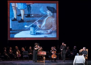 Tafelmusik Baroque Orchestra performing music of J.S.Bach, typical of what was played at Zimmerman's Café - CAMA Santa Barbara 3/8/17 The Lobero Theatre