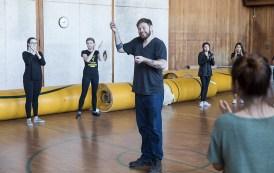 Nicholas Van Young class at Santa Barbara High School - UCSB Arts & Lectures 2/6/17