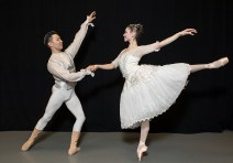 Deise Mendonça and Yassaui Mergaliyev as Cinderella and the Prince - State Street Ballet 3/23/17