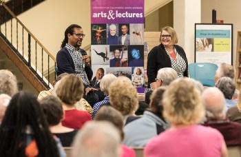Colson Whithead Q & A with Santa Barbara Book Club members 4/6/17 Santa Barbara Public Library