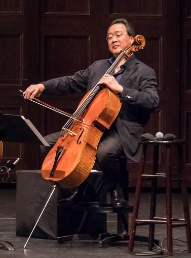 Yo Yo Ma - Bach Trios - UCSB Arts & Lectures 5/2/17 The Granada Theatre