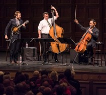 Chris Thile, Edgar Meyer and Yo Yo Ma playing Bach Trios - UCSB Arts & Lectures 5/2/17 The Granada Theatre