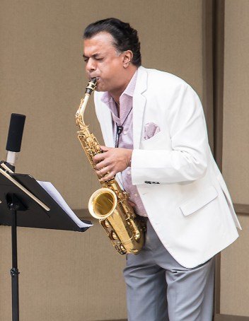 """Confluence"" with Rudresh Mahanthappa at the Ojai Music Festival 6/11/17"