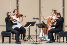 The Brentano String Quartet at the Ojai Music Festival 6/10/17 Libbey Bowl