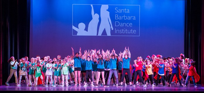 "Santa Barbara Dance Institute ""Event-of-the-Year""finale 5/21/17 The Marjorie Luke Theatre"