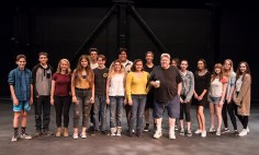 ETC Young Actors Conservatory participants with actor George Wendt 7/20/17