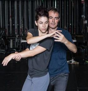 """Nicole Vaughn Diaz and Estaban Moreno - """"No Exit/In Love I Broke Beyond"""" 8/15/17 The Lobero Theatre"""