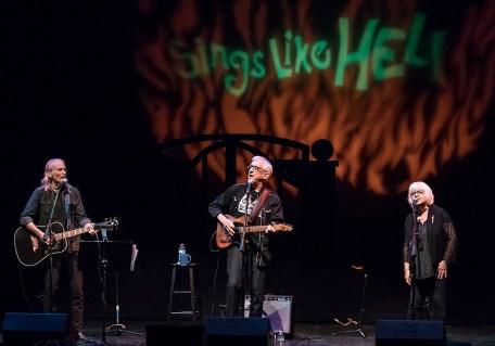 Sings Like Hell - Jimmy Dale Gilmore & Bill & Louise Kirchen 7/29/2017 The Lobero Theatre