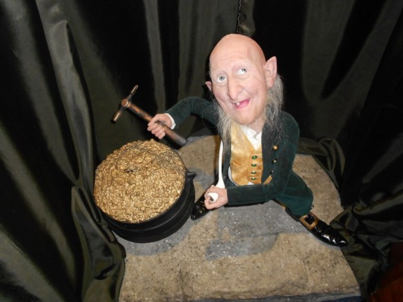 Wax Leprechaun at the National Wax Museum of Ireland