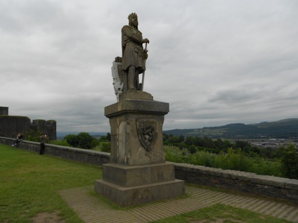 Robert the Bruce statue at Stirling Castle