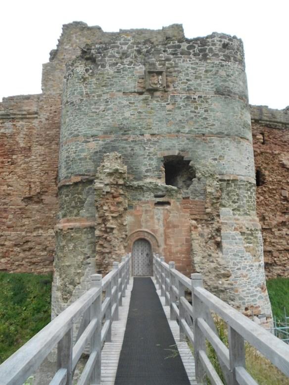 Tantallon Castle Entrance