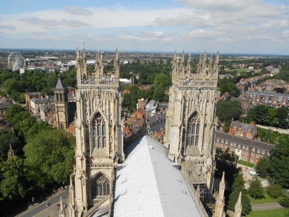 Views over York from Minster