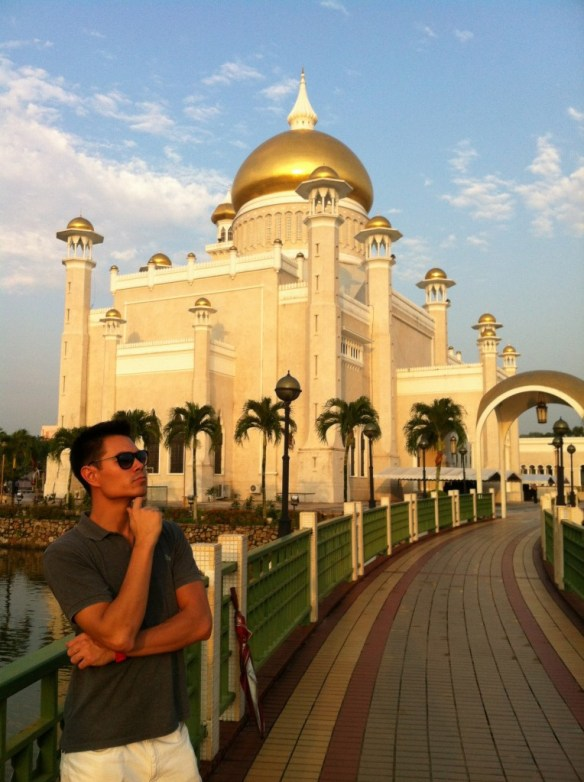 Sultan-Omar-Ali-Saifuddin-Mosque-ponder