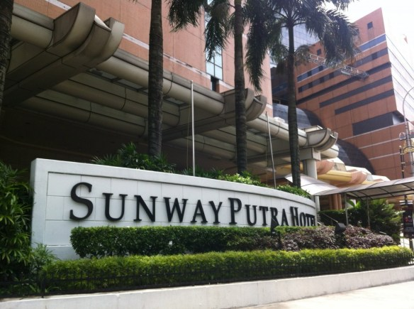 Sunway Putra Hotel Entrance