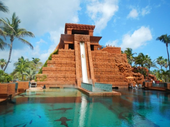 The Leap of Faith from the top of the Mayan Temple.