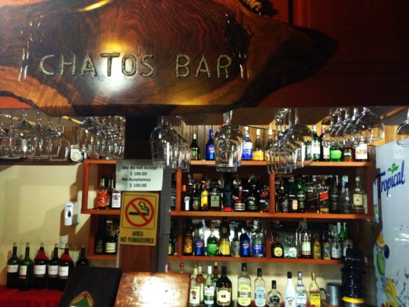 Chatos Bar at Arenal Observatory Lodge.