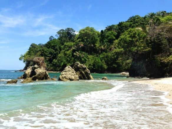 Playa Manuel Antonio, one of the best beaches of Costa Rica.