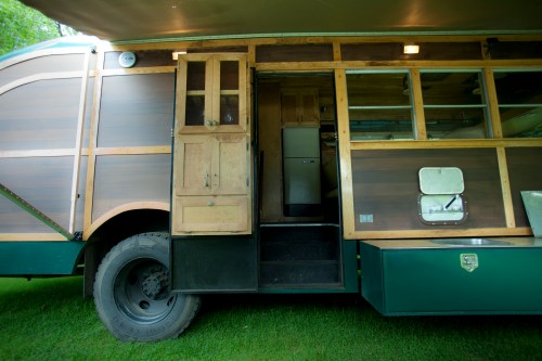 Medium Of School Bus Camper