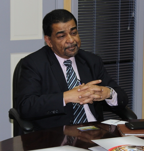 Mr Kelvin Mahabir, President invesTT. Photo courtesy David F Roberts