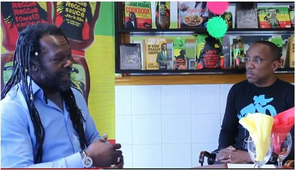 Interviewing Food millionaire Levi Roots